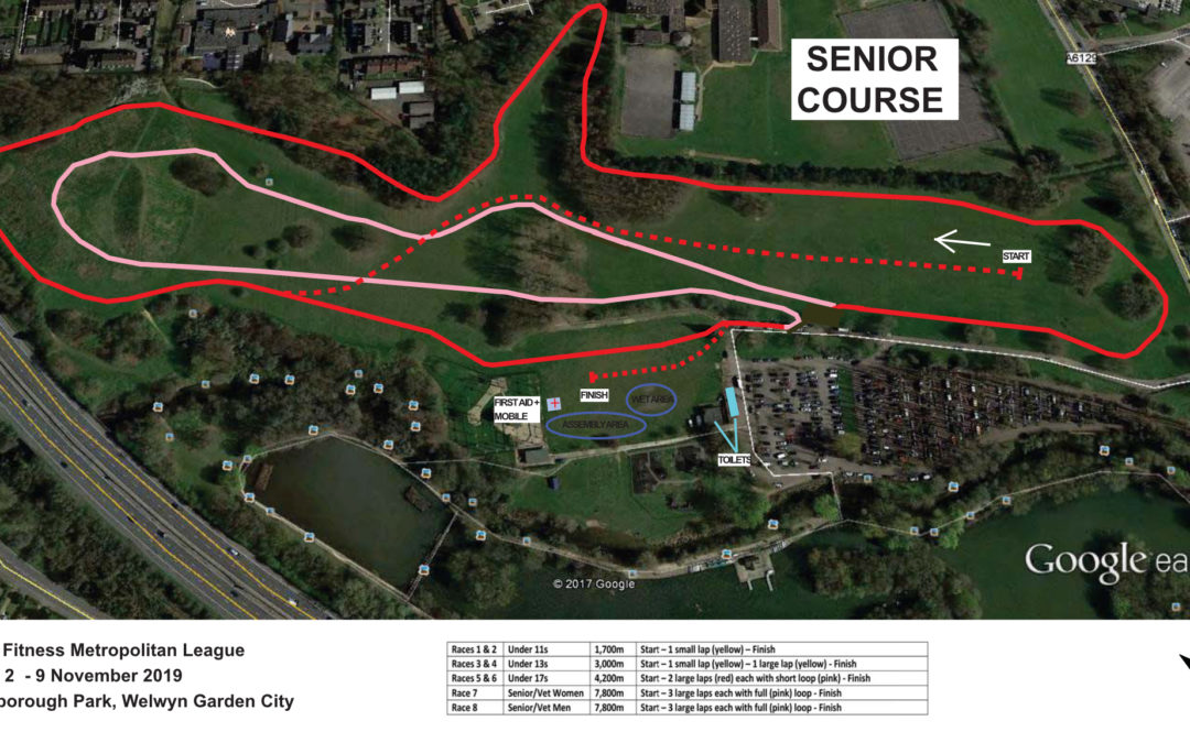 Race 2 – Welwyn – Full Details and Course Maps now available